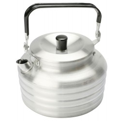 1.3L Aluminium Kettle with folding handle - 2014